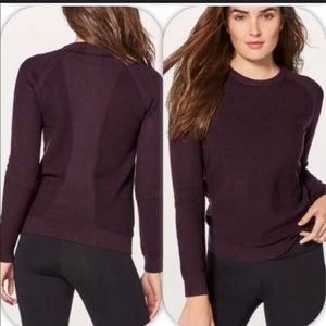 Lululemon Simply Wool Ribbed Fitted Sweater like 2